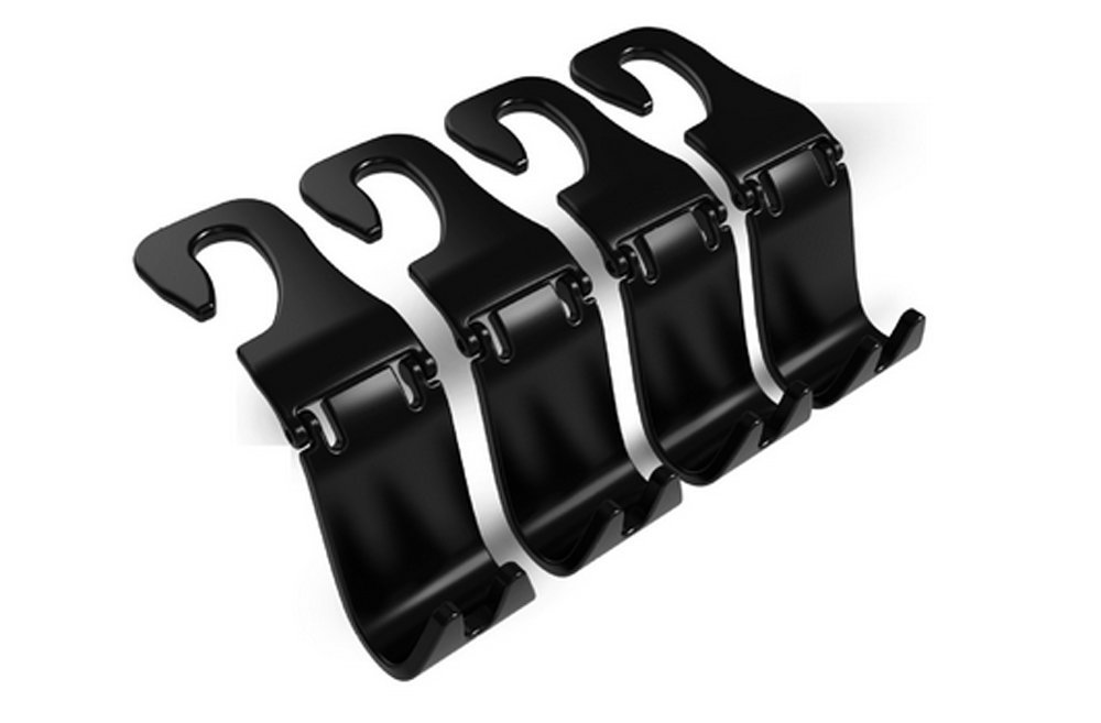 Ganci auto sedile posteriore poggiatesta,   –   Appendiabiti borsetta borsa Grocery bag Holder (set of 4) Mayco Bell  - Appendiabiti borsetta borsa Grocery bag Holder (set of 4) Mayco Bell Mayco Bell-005