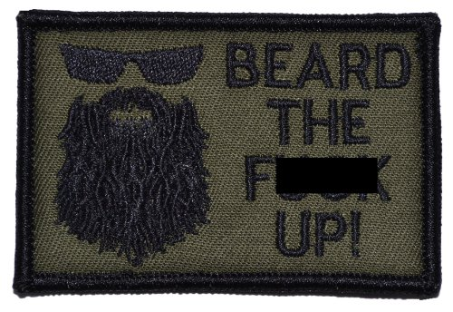 Beard 2x3 Military Patch Morale product image