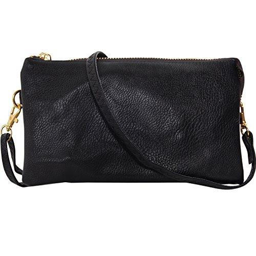 Leather Chic Handbag - 1