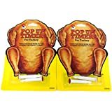 4ps (2pks) Pop- Up Timer for Turkey - Heucks Pop-Up Cooking Kitchen Tool Chicken Poultry Beef, USA Made