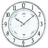 SEIKO CLOCK ( Seiko clock ) wall clock premium radio clock twin -Pas Swarovski Crystal ornaments LS230W