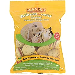 Sunseed Company 36022 Cranberry-Orange Animalovens Small Animal Treat, 4 Oz