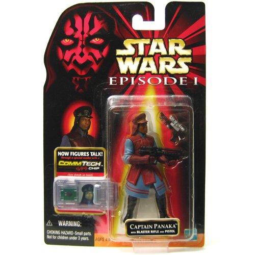 Star Wars Captain Panaka w/Blaster Rifle and Pistol 84108 from Hasbro