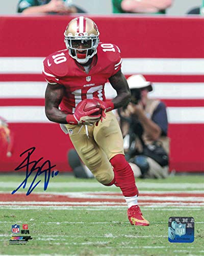 Bruce Ellington Autographed/Signed San Francisco 49ers 8x10 Photo