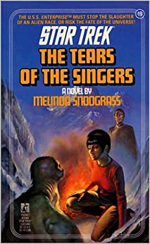 Book The Tears of the Singers (Star Trek (Numbered))