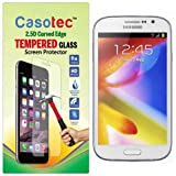 Casotec 2.5D Curved Edge Tempered Glass Screen Protector for Samsung Galaxy Grand I9082