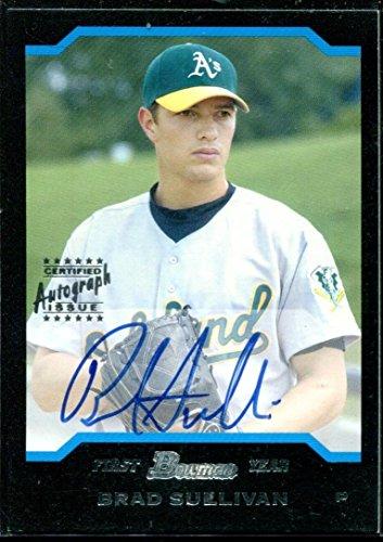 2004 Bowman Autographs - 2004 Bowman Autographs #173 Brad Sullivan Rookie Auto RC Card
