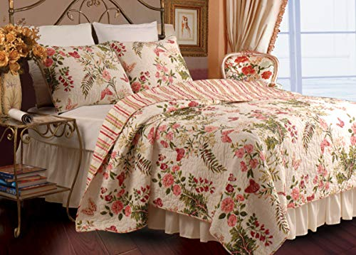 (Greenland Home Butterflies Full/Queen Quilt Set)