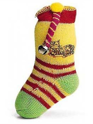 Ethical 5-Inch Neon Sock with Catnip and Bell Cat Toy, My Pet Supplies