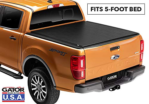 Gator ETX Soft Roll Up Truck Bed Tonneau Cover | 133105 | fits 2019 Ford Ranger, 5' Bed | MADE IN THE USA