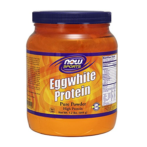Now Sports Eggwhite Protein  1 2 Pound