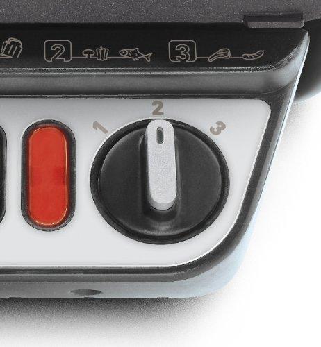 Rowenta GR3060 Ultra Compact Comfort - Bistecchiera con 3 Posizioni di Cottura, Facile da Pulire, Potenza 2000 W, Nero… 3