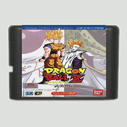 16 Bit Sega MD Game - Dragon Ball Z 16 bit SEGA MD Game Card For Sega Mega  Drive For Genesis - Sega Genniess , Sega Ninento , Sega Mega Drive