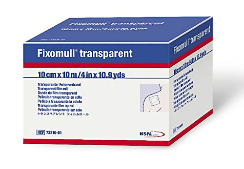 Physical Therapy AIDS 559594BSN Medical Fixomull Transparent Fixation Dressing
