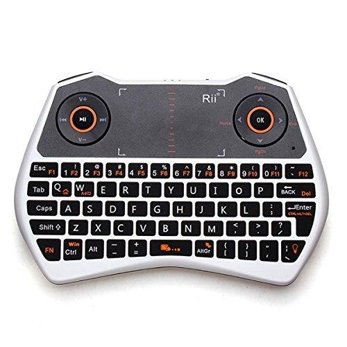 Rii Mini i28 2.4 GHz Wireless Remote Mouse Voice K…