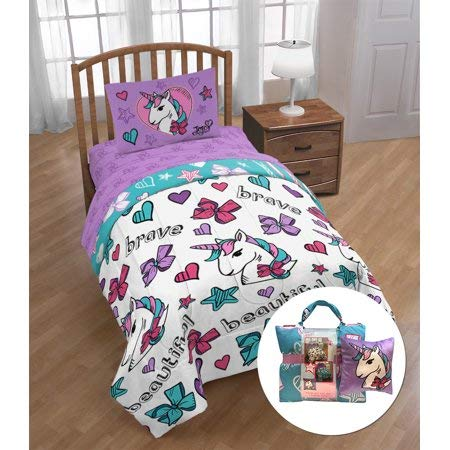 Nick JoJo Siwa 6 Piece Reversible Comforter Set (Cheap Comforter Sets Prices)