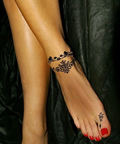 Henna Tattoo Kaufen Amazon: Feminine Temporary Tattoos - Buy Online In UAE.