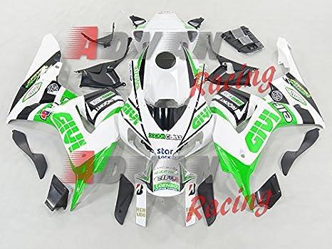 ... blanco y negro Inyección motocicleta embellecedores para Honda CBR1000RR 2006 - 2007 + Kit de carrocería de plástico tornillos: Amazon.es: Coche y moto