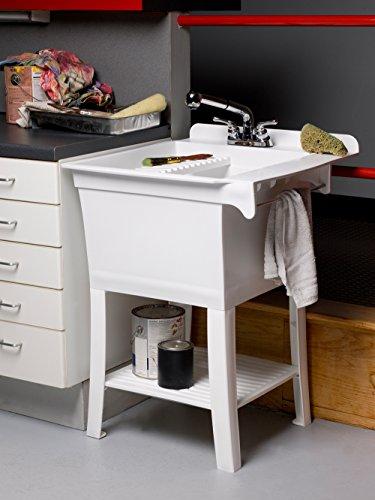 CASHEL 1980-32-01 The Maddox Workstation - Fully Loaded Sink Kit, White by CASHEL (Image #4)