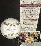 Bradley Zimmer Cleveland Indians Autographed Signed Official Major League Baseball JSA WITNESS COA