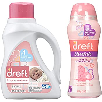 Amazon Com Dreft Blissfuls In Wash Scent Booster