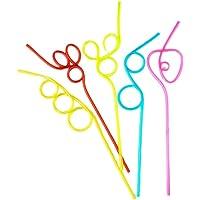 SUPVOX 5 sets diversión fiesta bebiendo paja creative
