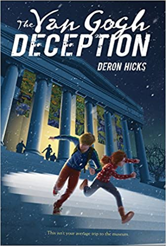Front cover for the book The Van Gogh Deception by Deron R. Hicks