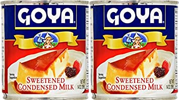 Goya Sweetened Condensed Milk 14oz | Leche Condensada Azucarada (Pack of 02)