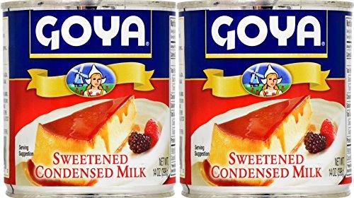 Goya Sweetened Condensed Milk 14oz | Leche Condensada Azucarada (Pack of 02) by Goya