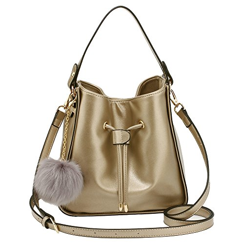 Women Handbag Ladies For Shoulder Designer New Small With Drawstring Charm Size Everyday Fur Bag Latest Style Use rqrwtg81x