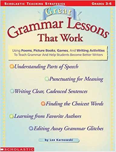 Book Great Grammar Lessons That Work (Grades 3-6)