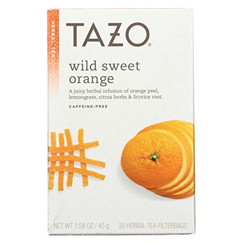 (Tazo Wild Sweet Orange Herbal Tea - 6 per case.)