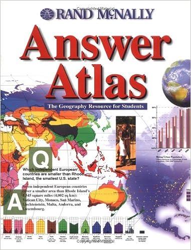 Answer Atlas (Rand McNally): 9780528838729: Reference Books ...