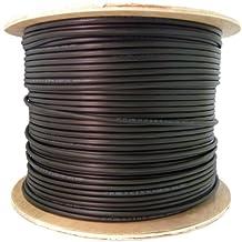 CERTICABLE 300' CAT-6 CAT6 OUTDOOR BURIAL UV BULK WIRE LAN CABLE CMX UV NO CONNECTORS