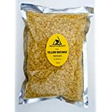 Yellow Beeswax Bees Wax Organic Pastilles Beads Premium Prime Grade A 100% Pure 16 oz, 1 LB, 454 g