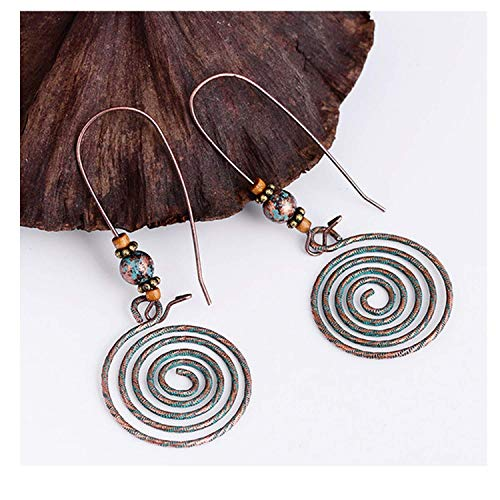 (Worth Charm Pendant Punk Style Copper Drop Earrings Creative Girls Jewelry,AN001194)
