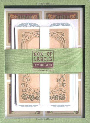 Read Online Art Nouveau Box of Labels PDF