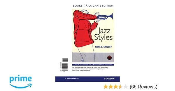 Jazz styles books a la carte edition 11th edition mark c jazz styles books a la carte edition 11th edition mark c gridley 9780205203925 amazon books fandeluxe Gallery