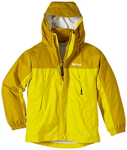marmot-junior-precip-jacket-l-yellow-vapor