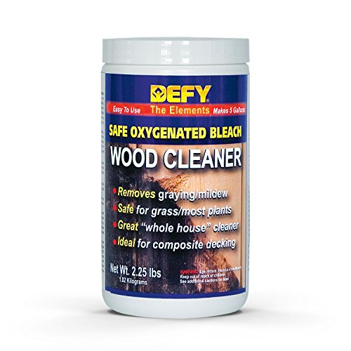 DEFY 2.25 lbs Wood Cleaner - Bleach Cleanser Oxygen Ajax