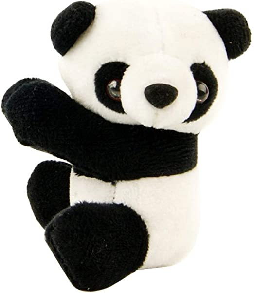 Panda Bookmarks Notes Clip Cute Plush Toys Note Clip Children Kid Birthday Gift