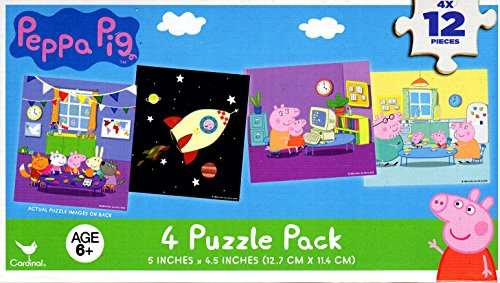 Peppa Pig Puzzle Different Puzzles