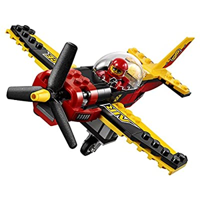 LEGO City Great Vehicles Race Plane 60144 Building Kit: Toys & Games