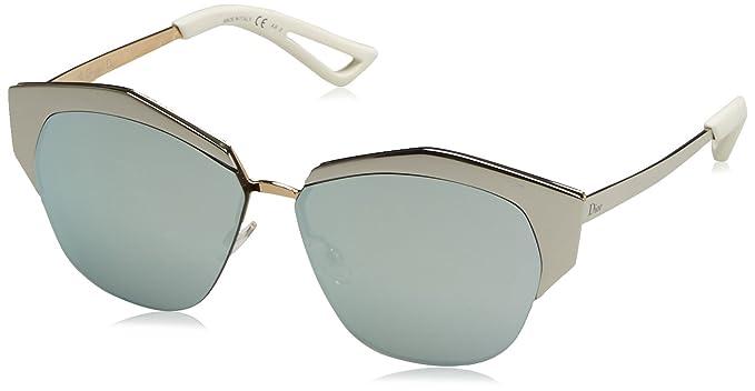 Amazon.com  Dior Women Mirrored D4W DC Sunglasses 55mm  Christian ... 54955a6a6067