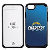 football cases for iphone 4 - NFL San Diego Chargers Gradient Football Pebble Grain Feel iPhone 7 Case