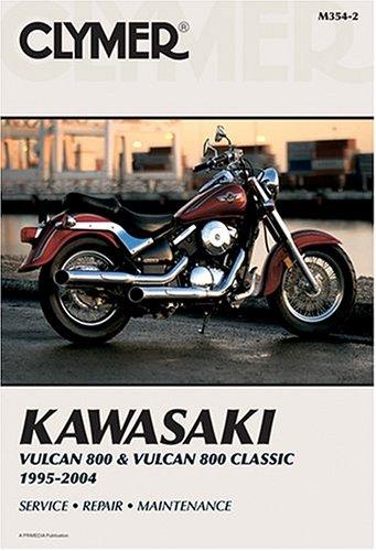 Kawasaki Vn800 Vulcan & Vulcan Classic 1995-2004 (Clymer Motorcycle Repair)
