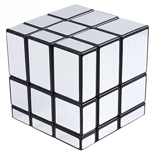 (Shengshou 3x3x3 Puzzle Magic Mirror Cube Silver)