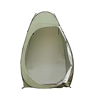 Game Tent-Jack Coco Portable Pop-up Privacy Shield Tenda Invisibile con Windows e Borse di stoccaggio Camping Doccia Pesca WC Beach Park, Borsa per Il Trasporto (Colore : Army Green)