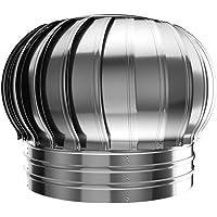 Rotary Ventilador Turbina, Acero Inoxidable de la Chimenea