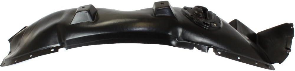 Fender Liner Compatible with 2010-2013 Chevrolet Equinox Plastic Front Passenger Side